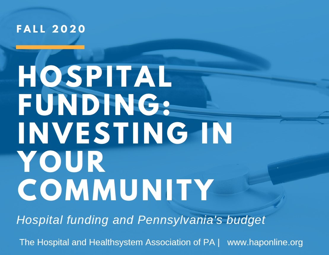 HAP infographic about the importance of level funding hospital Medicaid supplemental line items