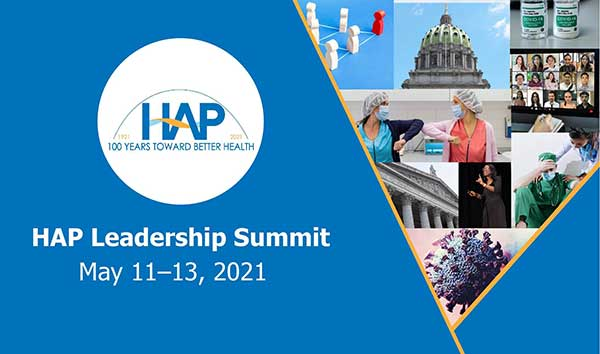HAP's Leadership Summit May 11-13, 2021