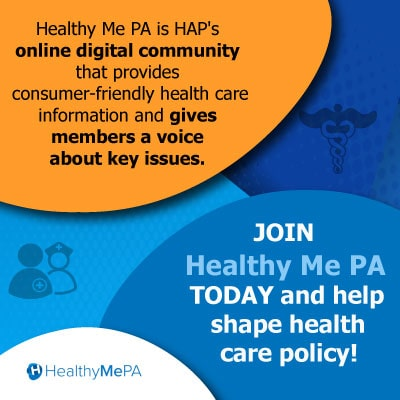 Join Healthy Me PA and help shape health care!
