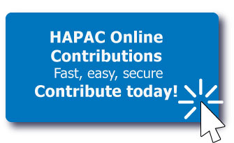 HAPAC Online Contributions - Donate Today!